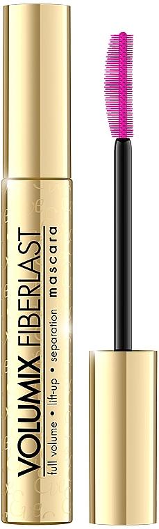 Тушь для ресниц увеличивающая объем - Eveline Cosmetics Volumix Fiberlast Mascara