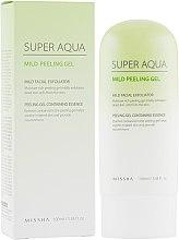 Духи, Парфюмерия, косметика Пилинг-гель для чувствительной кожи - Missha Super Aqua Mild Peeling Gel