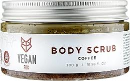 Духи, Парфюмерия, косметика Антицеллюлитный кофейный скраб для тела - Vegan Fox