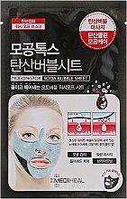 Духи, Парфюмерия, косметика Очищающая пузырьковая маска для лица - Mediheal Mogongtox Soda Bubble Sheet