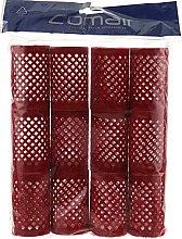 Духи, Парфюмерия, косметика Бигуди металлические, длинные, красные, 40 мм - Comair