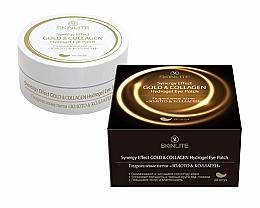 "Духи, Парфюмерия, косметика Гидрогелевые патчи ""Золото и Коллаген"" - Skinlite Gold&Collagen Hydrogel Eye Patch"