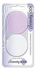 Духи, Парфюмерия, косметика Спонж для макияжа 400474, розовый + белый - Beauty Look