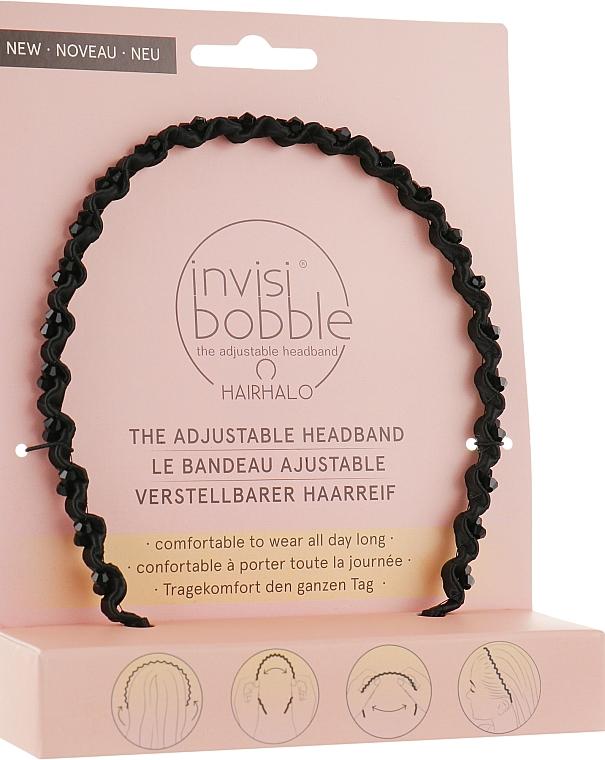 Ободок для волос - Invisibobble Hairhalo True Dark Sparkle