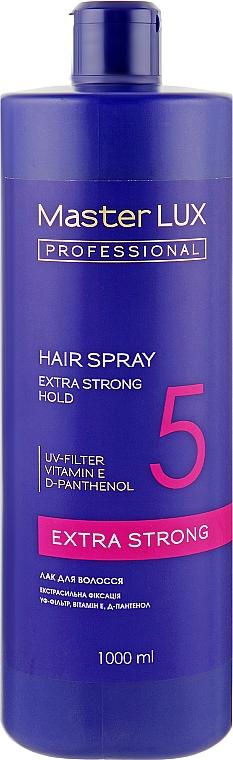 Лак для волос экстрасильной фиксации - Master LUX Professional Extra Strong Hair Spray