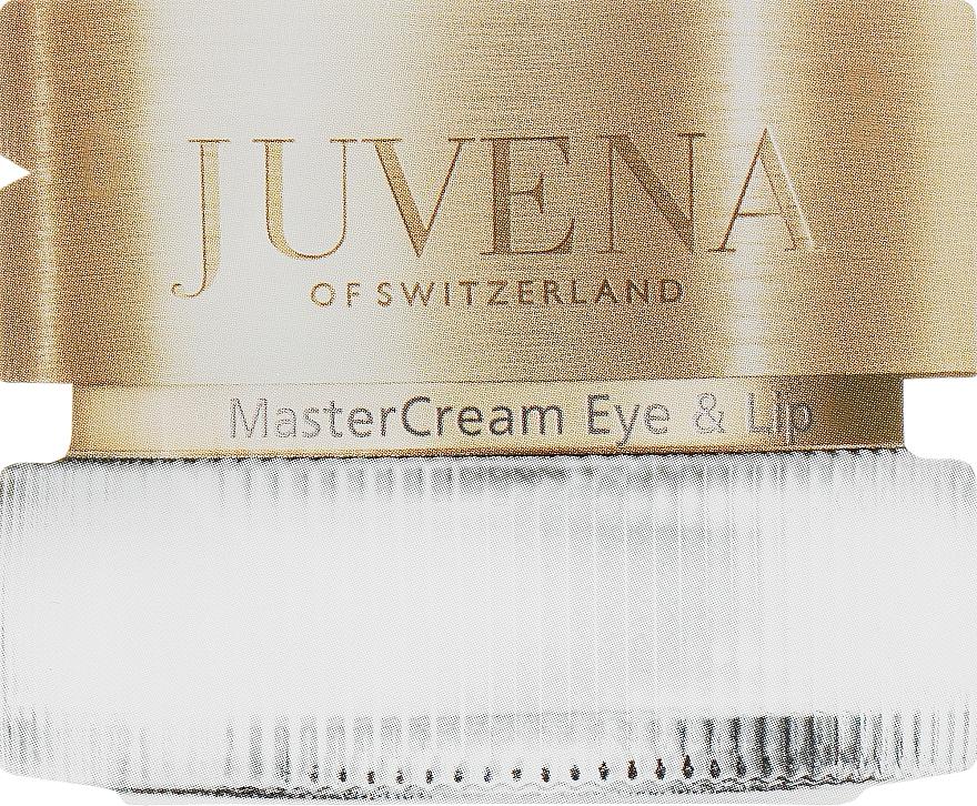 Крем для деликатных зон вокруг глаз и губ - Juvena Master Care MasterCream Eye & Lip (пробник)