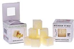 """Духи, Парфюмерия, косметика Аромакубики """"Белый шоколад"""" - Scented Cubes White Chocolate Candle"""