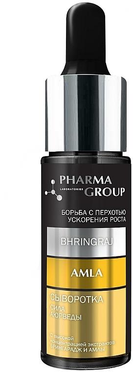 "Сыворотка для волос ""Сила аюрведы. Брингарадж + Амла"" - Pharma Group Laboratories"