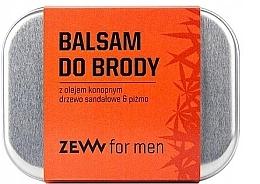 Духи, Парфюмерия, косметика Бальзам для бороды с маслом конопли - Zew Beard Balm