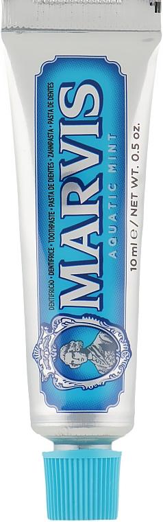 """Зубная паста """"Морская Мята"""" - Marvis Aquatic Mint (мини)"""