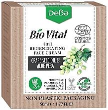 Духи, Парфюмерия, косметика Восстанавливающий крем для лица 4в1 - DeBa Bio Vital Regenerating Face Cream 4in1