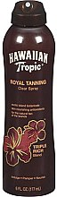 Духи, Парфюмерия, косметика Спрей-ускоритель загара - Hawaiian Tropic Royal Tanning Blend Spray