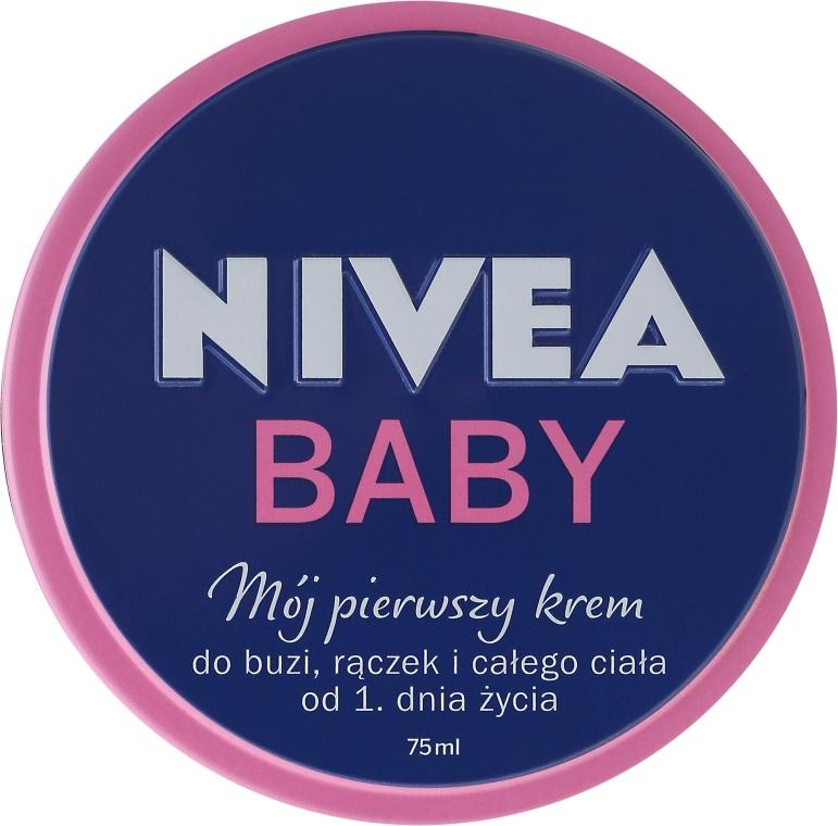 """Крем детский """"Мой первый крем"""" - Nivea Baby My First Cream — фото N1"""