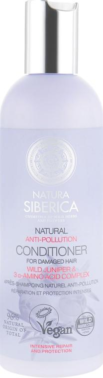 """Бальзам для тонких волос и секущихся кончиков """"Anti-Pollution"""" - Natura Siberica Exclusive"""