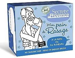 Духи, Парфюмерия, косметика Мыло для бритья - Secrets De Provence My Shaving Bar Hand Or Badger Brush