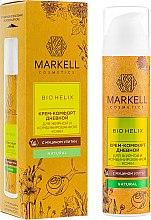 Духи, Парфюмерия, косметика Крем-комфорт с муцином улитки для жирной и комбинированной кожи - Markell Cosmetics Bio-Helix