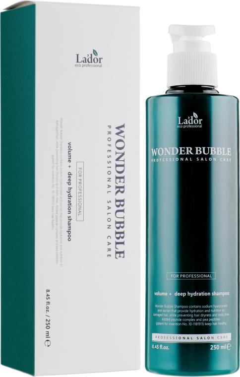 Увлажняющий шампунь для волос - La'dor Wonder Bubble Shampoo