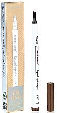 Духи, Парфюмерия, косметика Маркер для бровей с эффектом микроблейдинга - Music Flower Fine Sketch Liquid Eyebrow Pen
