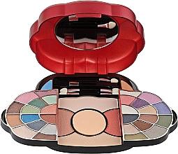 Духи, Парфюмерия, косметика Косметический набор, HB-2533R - Ruby Rose Deluxe Beauty Make Up Kit