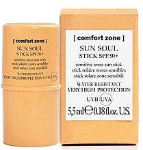 Духи, Парфюмерия, косметика Солнцезащитный стик для чувствительных участков кожи SPF50+ - Comfort Zone Sun Soul Stick