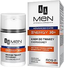 Духи, Парфюмерия, косметика Энергетический крем для лица - AA Men Advanced Care Energy 30+ Face Cream Energizing