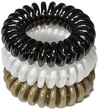 Духи, Парфюмерия, косметика Резинки для волос, 3,5 см - Ronney Professional S17 MAT Funny Ring Bubble