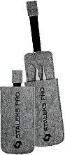 Парфумерія, косметика Чохол фетровий для пінцетів - Staleks Felt Tweezers Case