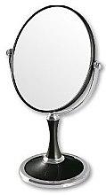 Духи, Парфюмерия, косметика Зеркало косметическое двухстороннее 85659, черное - Top Choice