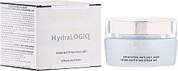 Духи, Парфюмерия, косметика Дневной матирующий крем для лица - Dermika Hydralogio Hydra Mattifying Face Cream 30+