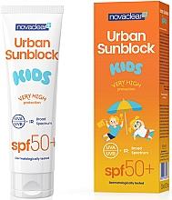 Духи, Парфюмерия, косметика Солнцезащитный крем для для детей - Novaclear Urban Sunblock Kids SPF50+