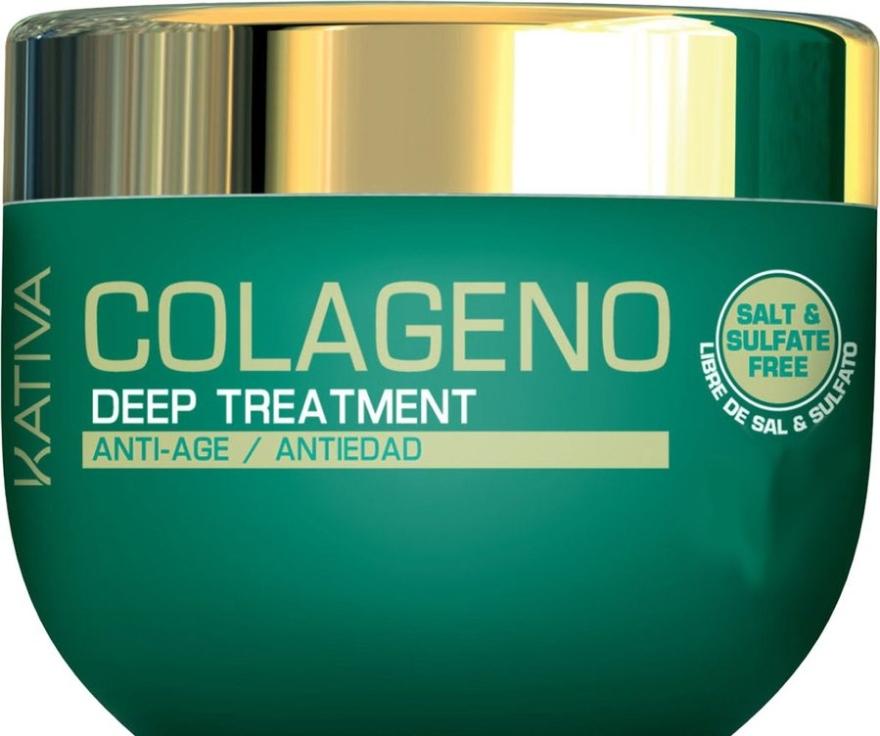 Интенсивная коллагеновая маска для всех типов волос - Kativa Colageno Deep Treatment
