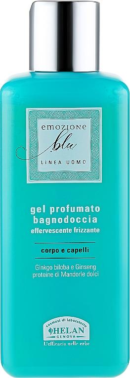 Ароматизированный гель для душа для мужчин - Helan Blue Emotion Scented Bath & Shower Gel