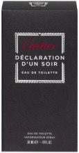 Cartier Declaration DUn Soir - Туалетная вода — фото N4