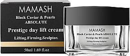 Духи, Парфюмерия, косметика Дневной крем-скульптор - Mamash Organic Black Caviar & Pearls Absolute Day Lift Cream
