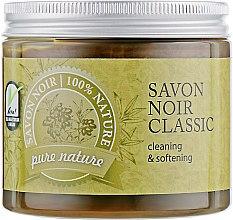 Духи, Парфюмерия, косметика Натуральное оливковое мыло - Organique Savon Noir Cleaning&Softening