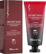 Духи, Парфюмерия, косметика Антивозрастной крем для рук - Secret Skin Syn-Ake Wrinkless Hand Cream