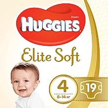 "Духи, Парфюмерия, косметика Подгузники ""Elite Soft"" 4 (8-14кг, 19 шт) - Huggies"