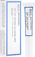 Духи, Парфюмерия, косметика Крем-контур для глаз с гиалуроновой кислотой - Beaute Mediterranea High Tech Hyaluronic Eye Contour Cream
