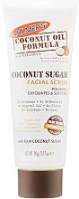 Духи, Парфюмерия, косметика Сахарный скраб для лица - Palmer's Coconut Oil Formula Coconut Sugar Facial Scrub