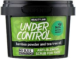 "Духи, Парфюмерия, косметика Скраб для лица ""Under Control"" - Beauty Jar Anti-Blemish Scrub For Face"