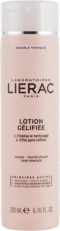 Двойной совершенствующий лосьон - Lierac Lotion Gelifiee Double Nettoyant
