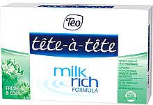 "Духи, Парфюмерия, косметика Твердое мыло ""Fresh & Cool"" - Tete-a-Tete Milk Rich Formula"