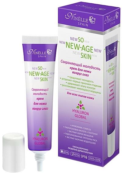 Крем для кожи вокруг глаз сохраняющий молодость - Ninelle So New-Age Skin Eye Cream