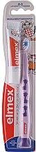 Духи, Парфюмерия, косметика Детская зубная щетка мягкая (0-3 лет), фиолетовая с жирафами - Elmex Learn Toothbrush Soft + Toothpaste 12ml