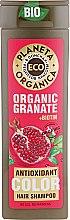 "Духи, Парфюмерия, косметика Шампунь для волос ""Защита цвета"" - Planeta Organica Organic Granate+Biotin"