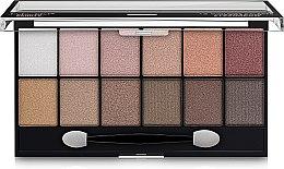 Духи, Парфюмерия, косметика Палетка для макияжа глаз - DoDo Girl 12 Colors Eyeshadow Palette