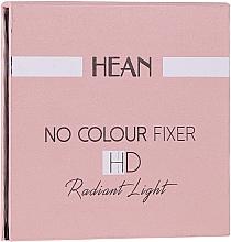 Духи, Парфюмерия, косметика Бесцветная осветляющая пудра - Hean No Colour Fixer HD Radiant Light