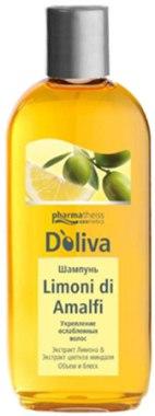 Шампунь для укрепления ослабленных волос - D'oliva Pharmatheiss Cosmetics Limoni di Amalfi