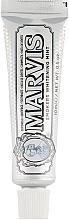 "Духи, Парфюмерия, косметика Зубная паста ""Отбеливающая мята для курильщиков"" - Marvis Smokers Whitening Mint (мини)"