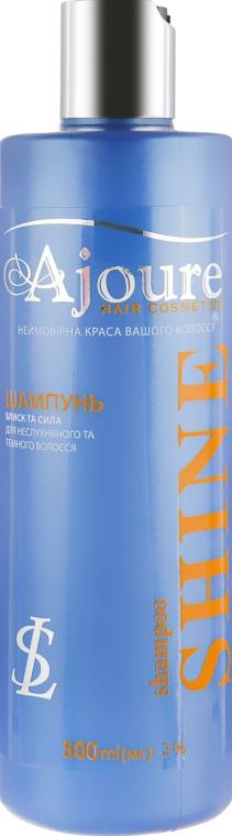 Шампунь для непослушных и темных волос - Ajoure Shine Shampoo